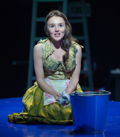 Katie Honan (Cinderella) in Into the Woods. Photo by Keith Dixon.