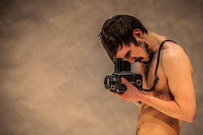 Craig Connolly (Ian) in O Go My Man. Photo by Keith Dixon.