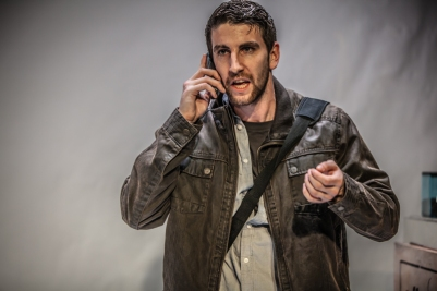 Ciarán Hilliard (Neil) in O Go My Man. Photo by Keith Dixon.