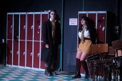 Callan Coughlan (Monostatos) and Sarah Brady (Pamina) in Die Zauberflöte (The Magic Flute). Photo by Colm Hogan.