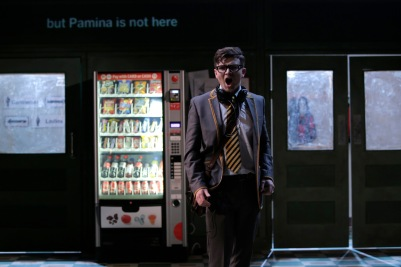 Andrew Gavin (Tamino) in Die Zauberflöte (The Magic Flute). Photo by Colm Hogan.