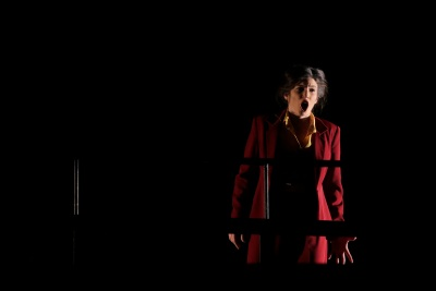 Corina Ignat (Queen of the Night) in Die Zauberflöte. Photo by Colm Hogan.