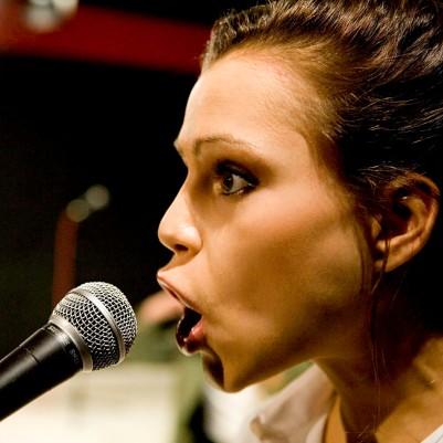 Eva O'Connor in Broken Croí/Heart Briste. Photo by Fiona Morgan.