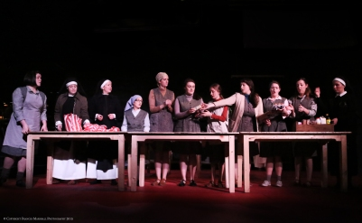 Ensemble in Suor Angelica. Photo by Frances Marshall.