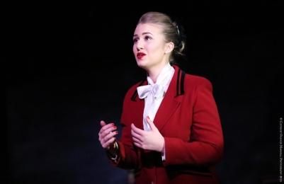 Carolyn Holt (La Zita Principessa) in Suor Angelica. Photo by Frances Marshall.