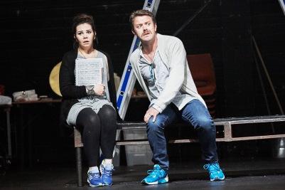 Rachel Croash (Susanna) and Rory Musgrave (Gil) in Susanna's Secret. Photo by Ros Kavanagh.