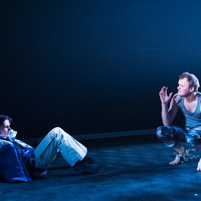 Hilary O'Shaughnessy (Rosaura) and Paul Reid (Segismundo) in Life is a Dream. Photo by Ros Kavanagh.