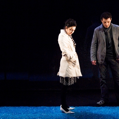 Frank Laverty (Man) and Kathy Kiera Clarke (Woman) in Dream of Autumn. Photo by Ros Kavanagh.