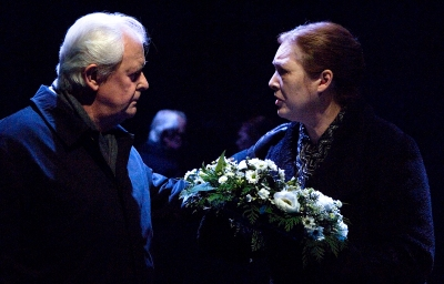 Des Nealon (Father) and Deirdre Donnelly (Mother) in Dream of Autumn. Photo by Ros Kavanagh.