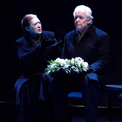 Deirdre Donnelly (Mother) and Des Nealon (Father) in Dream of Autumn. Photo by Ros Kavanagh.