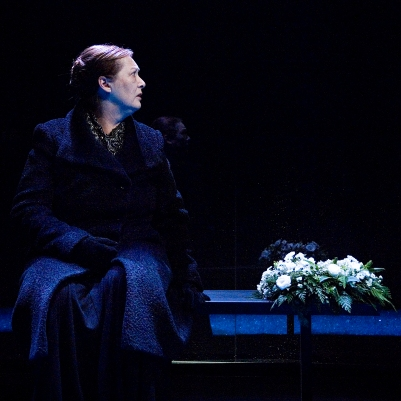 Deirdre Donnelly (Mother) in Dream of Autumn. Photo by Ros Kavanagh.