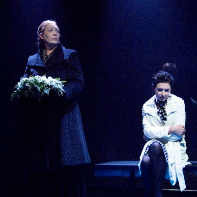 Deirdre Donnelly (Mother) and Kathy Kiera Clarke (Woman) in Dream of Autumn. Photo by Ros Kavanagh.