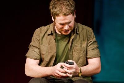 Ian Lloyd Anderson (Liam) in Shibari. Photo by Fiona Morgan.