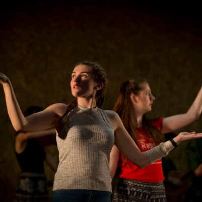 Dublin Youth Theatre in Rising. Photo by Ste Murray.