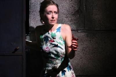 Sarah Richmond (Kate Julian) in Owen Wingrave (Opera Collective Ireland). Photo by Frances Marshall.