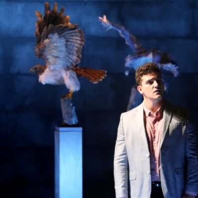 Peter O'Reilly (Lechmere) in Owen Wingrave (Opera Collective Ireland). Photo by Frances Marshall.