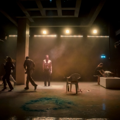 The Caucasian Chalk Circle. Photo by Keith Dixon.