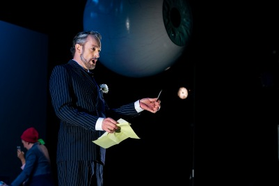 John Molloy (Lindorf) in The Tales of Hoffmann. Photo by Pat Redmond.