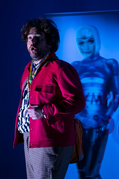 Julian Hubbard (Hoffmann) in The Tales of Hoffmann. Photo by Pat Redmond.