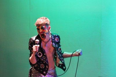 Stephen Quinn (Stefan Fae) in Overfired. Photo by Carla Rogers.