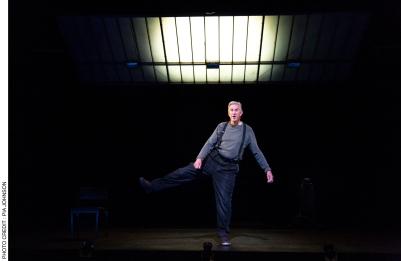 Barry McGovern in Watt (2018 production). Photo by Pia Johnson.