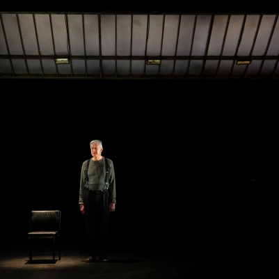 Barry McGovern in Watt (2018 production). Photo by Pia Johnson.
